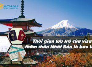 Thời gian lưu trú của visa thăm thân Nhật Bản là bao lâu?
