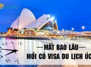 Mất bao lâu mới có visa du lịch Úc?