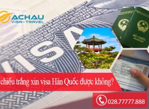 Hộ chiếu trắng xin visa du lịch Hàn Quốc có khó không?1