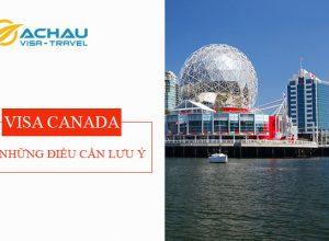 Bí quyết xin visa du lịch Canada dễ dàng