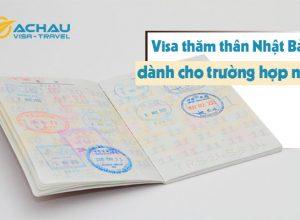 Trường hợp nào được phép xin visa thăm thân Nhật Bản?