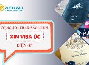 Bảo lãnh người thân đi du lịch Úc cần xin visa diện gì?