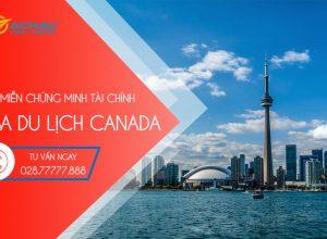 Miễn chứng minh tài chính xin visa Canada trong trường hợp nào