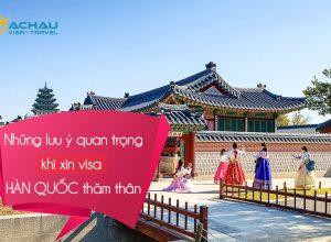 Visa Hàn Quốc diện thăm thân