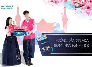 Hướng dẫn xin visa Hàn Quốc thăm con kết hôn