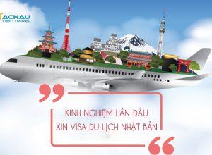 Kinh nghiệm xin visa du lịch Nhật Bản lần đầu