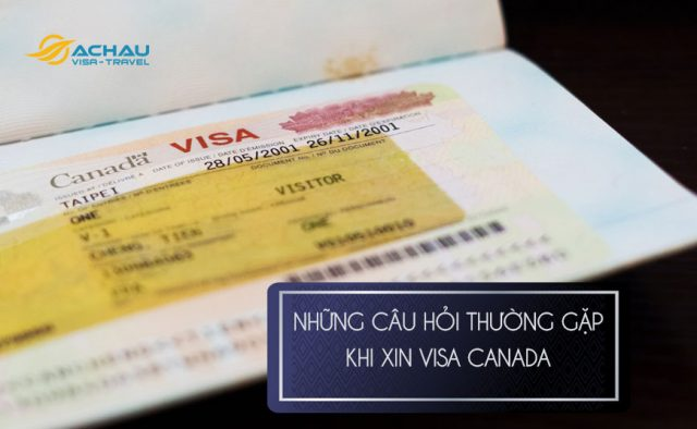 Xin visa Canada đi du lịch