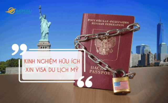 Thông tin hữu ích khi xin visa du lịch Mỹ