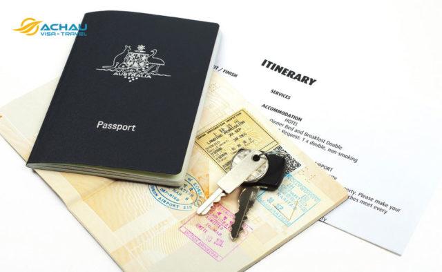 Quy định nhập cảnh visa Úc diện du lịch